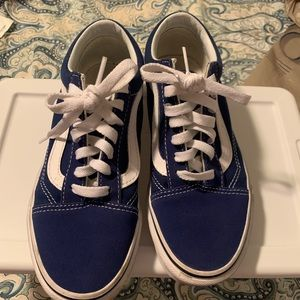 Old school blue vans